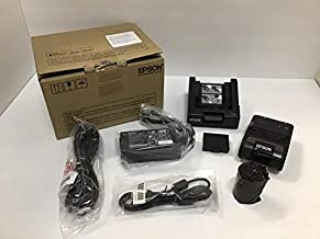 Epson C31CE14551 Series TM-P20 Thermal Line Printer, Bluetooth, EBCK, Mobilink, Includes Battery, Base Charger and Acadaptc