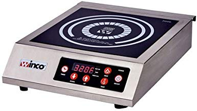 """Winware by Winco EIC-400 Commercial Electric Induction Cooker 11"""" x 11"""""""