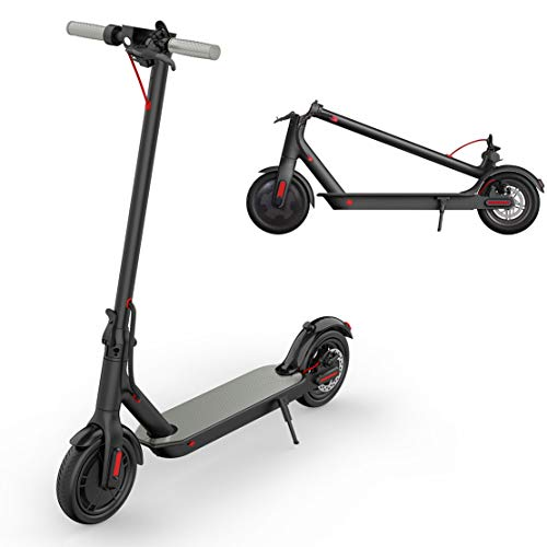 """Rawrr Foldable Electric Scooter for Adults, 300W+ Technology, 8.5"""" Air Filled Tires, up to 15.8mph, 16 Miles Distance, Ultra Lightweight Kick Scooter Commuter, Portable, Rechargeable"""