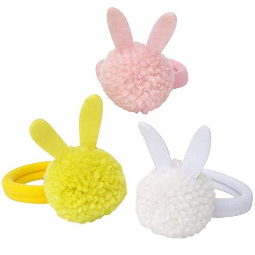 Bunny Pom Pom Hairbands