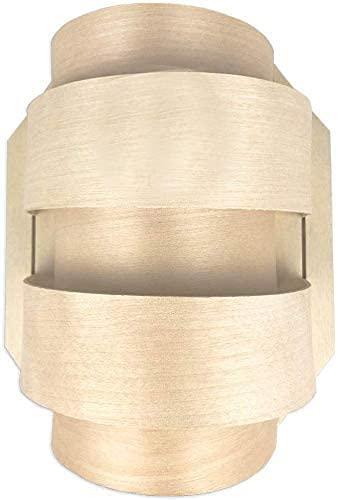 SudoreWell® Sauna Holzblendschirm klein für Saunaleuchte + Saunalicht