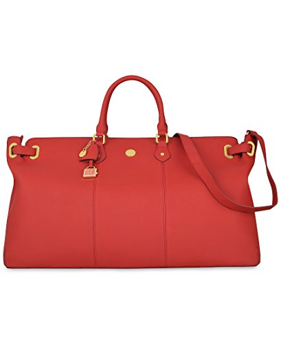 Joy Mangano Christie Weekender, Red