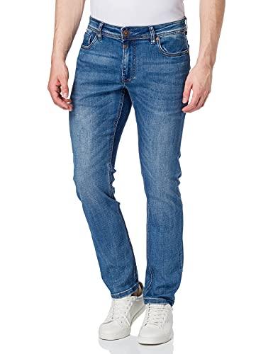 Timezone Herren Slim EduardoTZ, Jeans Blue wash, 36/36