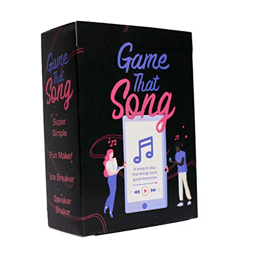 Game That Song - Music Card Game for Adults, Party, Family and Game Night - Music is Your Love Language