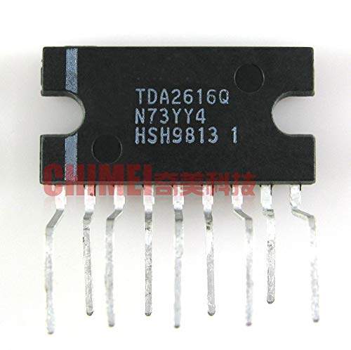 Nologo Yinxinhui 5 PC TDA2616-Audio-Leistungsverstärker-IC Zip integrierten Schaltung elektronische Bauteile