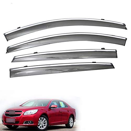 ZYTZK , Para 1 Juego, para Chevrolet Malibu 2012 2013 2014 2015 Ventana de Humo de Coche Visera de Lluvia ABS Ventilación Deflectores solares Guardia