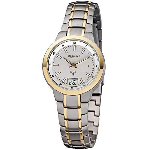 Regent Damen-Uhren Analog Funk One Size Titan 87600076