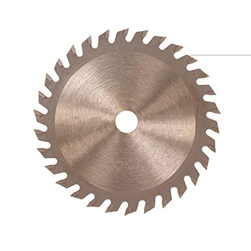 ADUCI 1pc 85 x 10 / 15mm TCT TCT Hoja de Sierra Circular Bronce Color de Bronce Recubrimiento de Madera de Corte (Color : 15mm, tamaño : 85mm 30T)