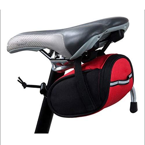 HSKB Fahrradtaschen Gepäckträger Fahrrad Rahmentasche Wasserdicht Handyhalterung Flaschenhalter Getränkehalter Multifunktionale Tasche MTB Rennrad Rack Carrier Oberrohrtasche Handytasche (Rot)