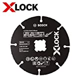 Bosch Professional 2608619284 Mola da Taglio per Legno e Plastica, X-Lock, Ø125 mm, Diame...