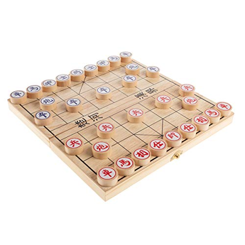 Hey! Play! Chinese Chess – Wooden Beginner'S Traditional Tabletop Strategy &...