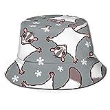 Sombrero de Cubo Protección UV Empacable Senderismo al Aire Libre Pesca Caza Viajes Mujeres Hombres Sombrero de Cubo de ala Ancha al Aire Libre Protección Solar Pescador Cap-2H