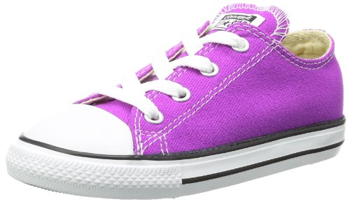 Converse Infants/Toddlers Chuck Taylor All Star Lo Seasonal,Purple Cactus Flower,US 9 M