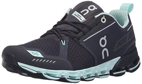 On Running Damen Cloudflyer W 9 Laufschuhe, Grau (Grey/Jade), 40.5 EU