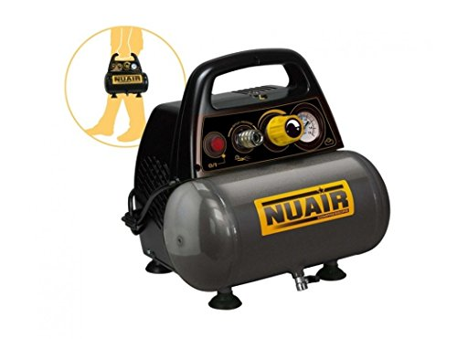 Compressore Nuair New Vento 200/8/6 Motore 1,5 Hp 6 Lt