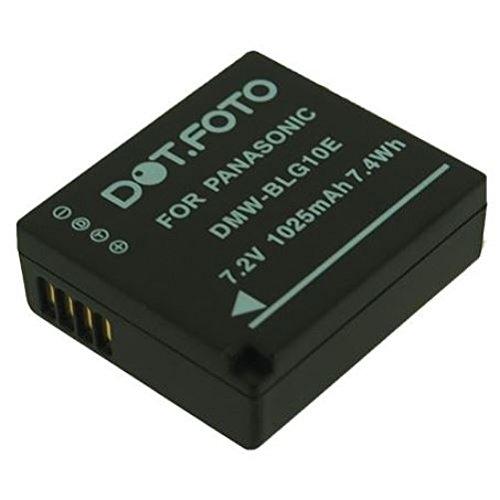 Panasonic DMW-BLE9, DMW-BLE9E, DMW-BLG10, DMW-BLG10E PREMIUM Dot.Foto Batería de Reemplazo [Vea compatibilidad en la descripción]