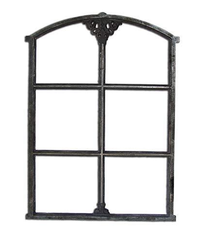 Fensterrahmen Gussrahmen Gussfenster Metallfenster Sprossenfenster aus Gusseisen | Maße: 550x765 mm