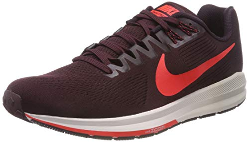 Nike Men's Air Zoom Structure 21 Training Shoes, Red (Burgundy Ash/Bright Crimson 600), 10.5 UK