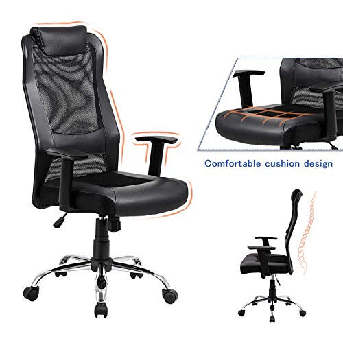 Vanbow Extra High Back Mesh Office Chair