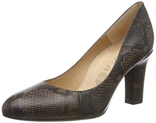 Unisa Umis_f19_vp, Zapatos de Tacón Mujer, Marrón (Livanto Livanto), 38 EU