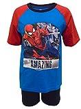 Spiderman Amazing Jungen Shortie Pyjamas 9-10 Jahre / 140 cm