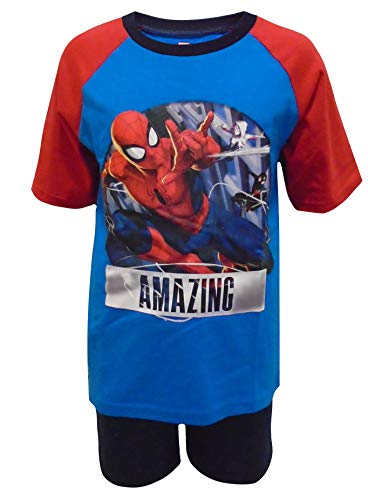Spiderman increíble Niños Shortie Pijamas 5-6 años /