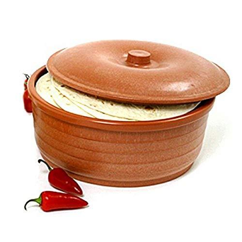 Norpro Tortilla Pancake Keeper, One Size, Brown
