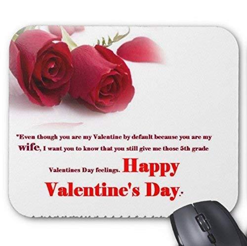 Happy Valentine Day Messages 2018 wünscht Grüße Mauspad