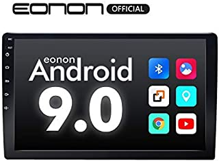 2020 Car Stereo,Double Din Car Stereo, Eonon Car Radio 10.1 Inch GPS Navigation for Car,Android Stereo Support Apple Carplay/Android Auto/WiFi/Fast Boot/DVR/Backup Camera/OBD2-(NO DVD/CD)-GA2178