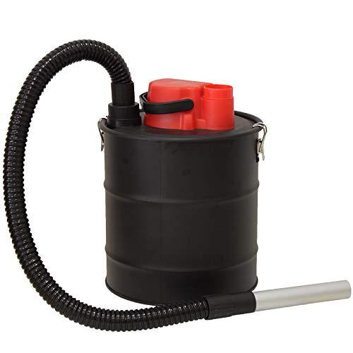 Aspirador de cenizas de la marca Grafner®, 20 litros, 1200 W, con filtro HEPA y funciones de succión y soplado