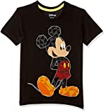 Mickey and Friends by Kidsville Boys Plain Regular Fit T-Shirt