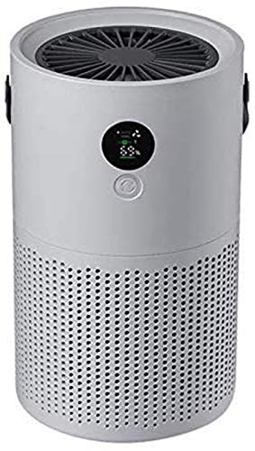 YSQ Portable Proton Pure Air Purifier with True HEPA Air Filtration Technology and Carbon Filters for Standard-Sized Rooms (250-350 ft2)
