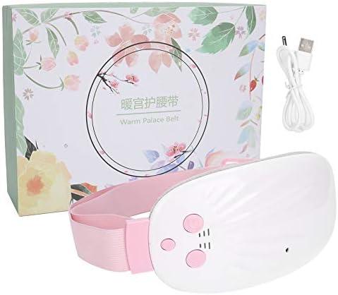 Verwarmde heupgordel USB opladen Trillingen Masseren Menstruele elektrische verwarmingsriem Meisjes voor het masseren van opwarmende vrouwenSmall shellrechargeable
