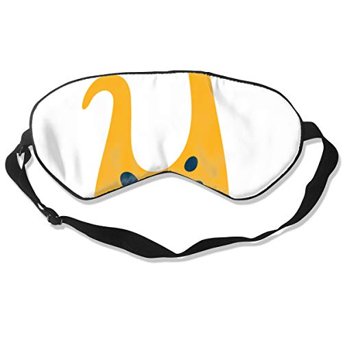 Preisvergleich Produktbild Cartoon Yellow Banded Dragon Optimal Schlafmaske für Augenmaske,  geeignet für Reisen,  Nickerchen,  Meditation,  Augenmaske mit verstellbarem Gurt,  männlich,  weiblich