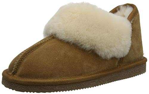Hush Puppies Damen Reigh Flache Hausschuhe, Braun (Tan Tan), 36 EU