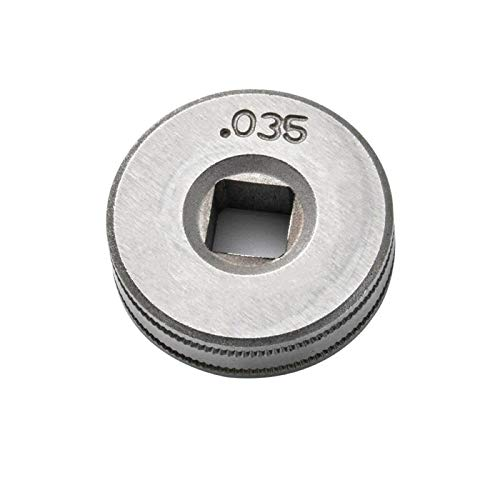 """TAMNV Tool Parts 25mm Diameter Wire Feed Drive Roller Roll Wheel .030""""-.035"""" for Mig Welders for Clarke, SIP, MIG100/130/160/180/200"""