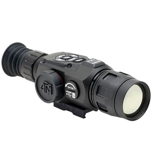 ATN OTS-HD 640 2.5-25x, 640x480, 50 mm, Thermal Monocular w/High Res Video, Geotagging, Rangefinder,...