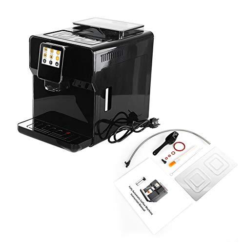 Automatyczny ekspres do kawy ze stali nierdzewnej, przemysłowy ekspres do kawy, funkcja automatycznego wyłączania, zdejmowany zbiornik na wodę, pomocnik dla miłośników kawy (wtyczka EU) 220 – 240 V