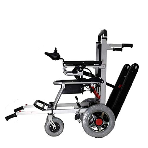 Electric Wheelchair, Indoor and Outdoor Stair Lift, Foldable Lightweight Heavy Duty Lithium Battery...