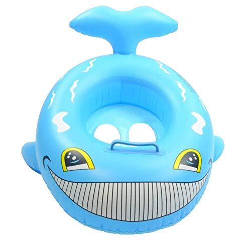 N-B Anillo de natación Inflable para bebés, Forma de Pato de tiburón para niños, Anillo de Asiento de natación Seguro, Asiento de natación, boya de Piscina, Anillo de natación