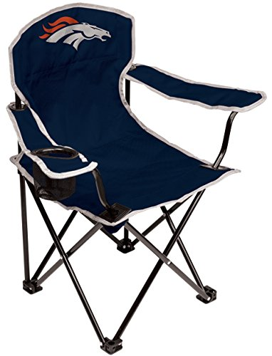 Coleman NFL Oakland Raiders Youth Folding Chair, Black