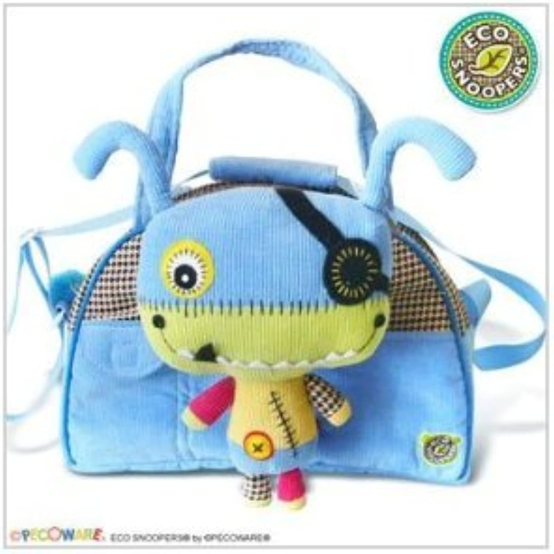 Duffle Bag  Pecoware  Monster Soft Plush Doll Hand Purse New B025MR