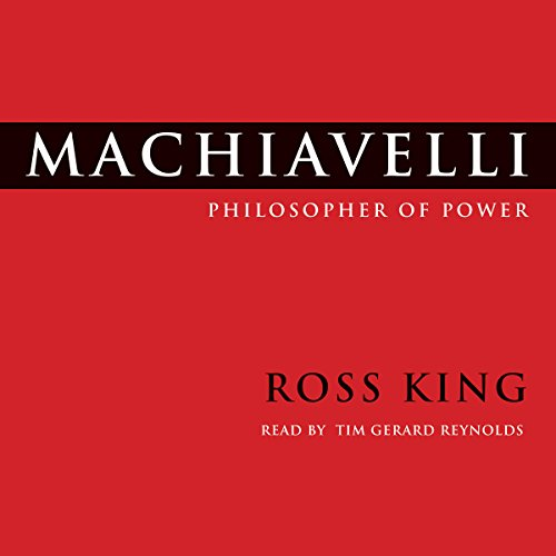Machiavelli audiobook cover art