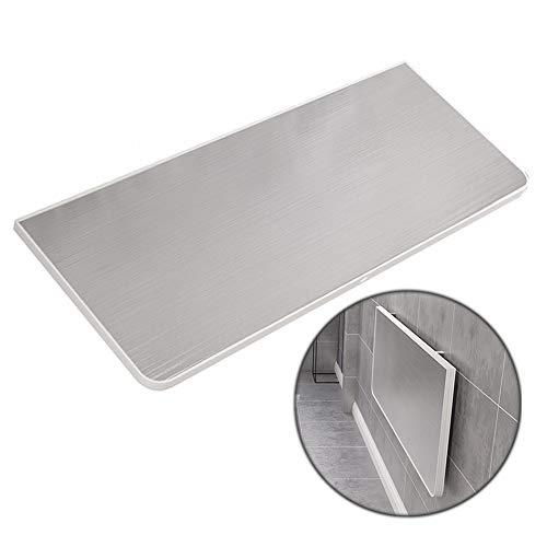 Hairong Fold Wandmontage Druppelblad Tafel - Opvouwbare Werkbank Voor Keuken & Eetkamer/Wasruimte/Bedkant Computer Tafels Bureau, Laad 100kg
