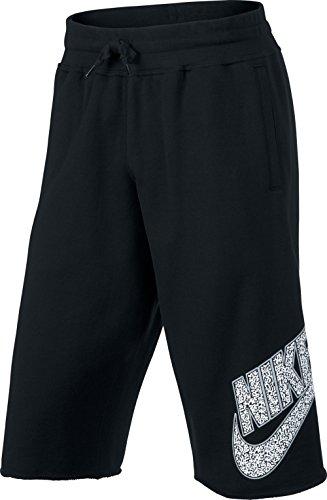 Nike Short Basketball Updated Pickup Long - Prenda, Color Negro, Talla XL