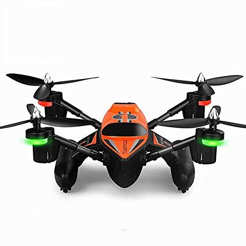 WANGCH 2.4G sjö-, land- och luft sexaxlig rymdfarkost fjärrkontroll båt/RC fartygsglidning UAV/hangarfartyg Fyraxlig flygplan/modellflygplan med LED-lampor