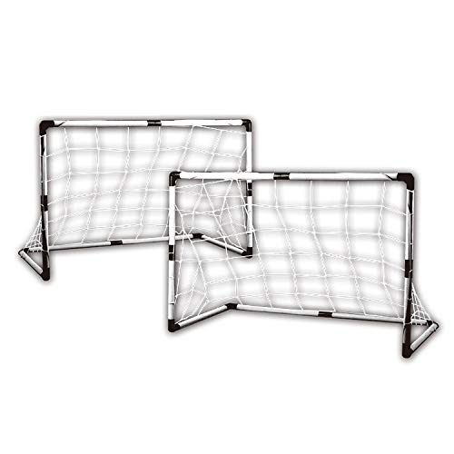 Best Prices! Indoor and Outdoor Basketball Zhenku 2 PCS Plastic Door Frame Football Gate for Childre...