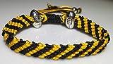 Bracelet Mary's Terrace Rugby Ropes Fait main Cadeau idéal sur le thème du rugby pour les supporters Cadeau ou accessoire idéal pour tous les fans de rugby, WASPS, taille unique