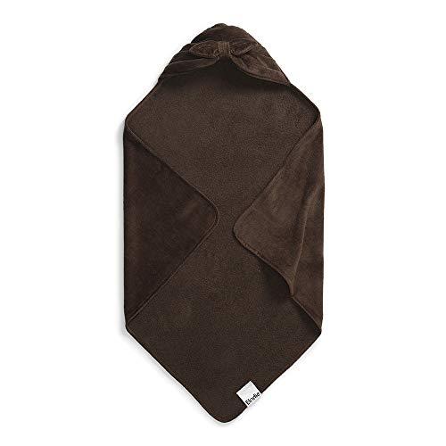 Elodie Details Hooded handdoek voor baby Chocolade strik