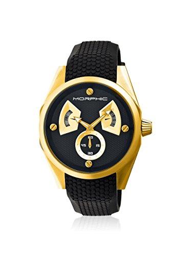 Montre Morphic - Affichage analogique Bracelet Silicone et Cadran MPH3406_Black